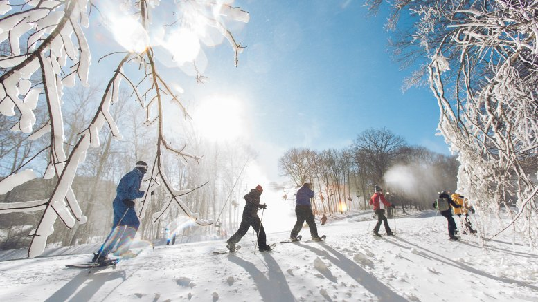 Beech Mountain Snow Shoeing