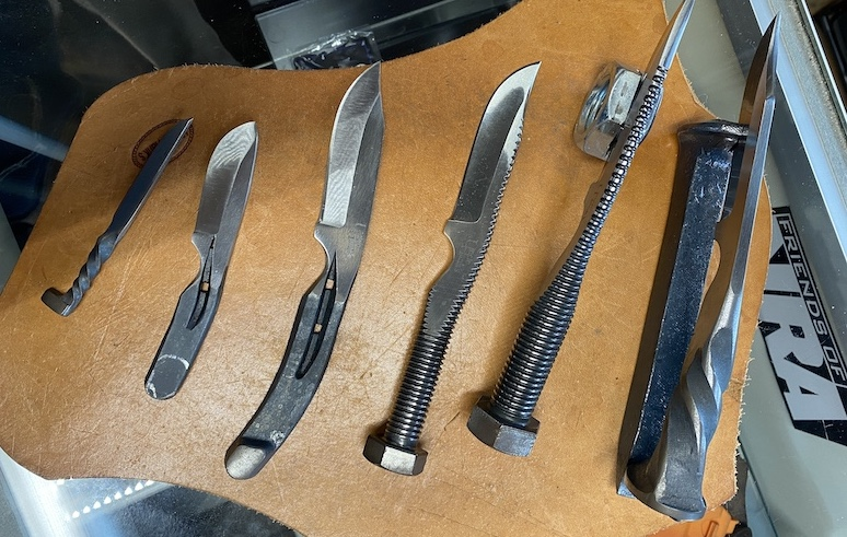 Forge in Your Own Fire with Uncle Hank's Knives in Sevierville, TN